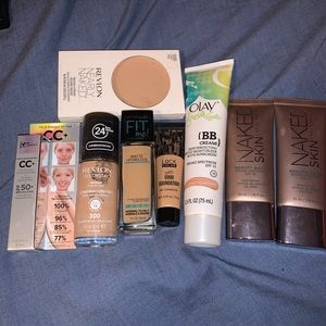 Makeup foundation/powder bundle! Medium skin-tone